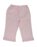 Los pantalones rayados de los niños Foto de archivo libre de regalías