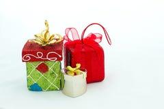 Los paquetes del regalo Fotografía de archivo libre de regalías