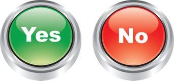 Los pares agradables de iconos brillantes tienen gusto de los botones Fotografía de archivo libre de regalías