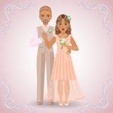 Los pares del Betrothed Fotografía de archivo libre de regalías