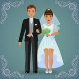 Los pares del Betrothed Imagen de archivo libre de regalías