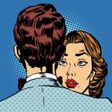 Los pares sirven y el romance del amor de la mujer libre illustration