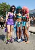Los participantes marchan en el 34to desfile anual de la sirena Imagen de archivo libre de regalías