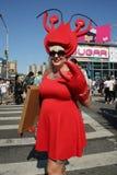 Los participantes marchan en el 34to desfile anual de la sirena Fotografía de archivo