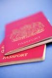 Los pasaportes satisfacen? Fotos de archivo libres de regalías