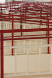 Los pasillos Imagen de archivo