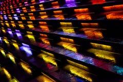 Los pasos coloridos Foto de archivo