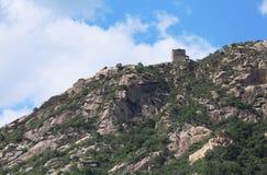 Los pasos de la Gran Muralla Fotos de archivo libres de regalías