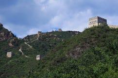 Los pasos de la Gran Muralla Fotos de archivo