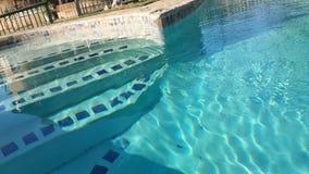 Los pasos de la piscina Imagen de archivo libre de regalías