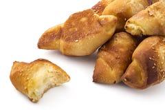 Los pasteles ruedan con queso Imagen de archivo