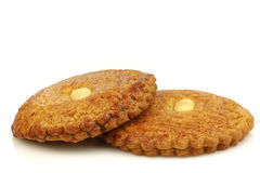 Los pasteles tradicionales holandeses llamaron el koek del gevulde foto de archivo libre de regalías