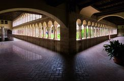 Los patios de Verona fotografía de archivo