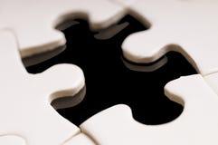 Los pedazos que falta del rompecabezas Imagen de archivo libre de regalías