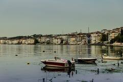 Los pescadores abrigan la vieja fotografía - Turquía Fotografía de archivo