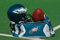 Los Philadelphia Eagles NFL imagen de archivo