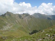 Los picos de las alturas de Rumania Imagen de archivo libre de regalías