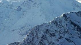 Los picos del norte ártico almacen de metraje de vídeo