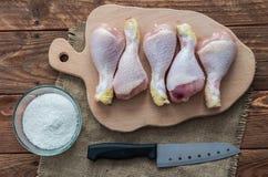 Los pies del pollo Imagen de archivo