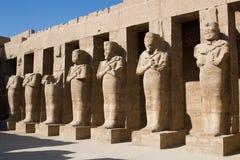 Los pilares de Osiris imágenes de archivo libres de regalías