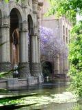 Los pilares del palacio Fotos de archivo