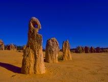 Los pináculos en Australia occidental Fotos de archivo