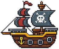 Los piratas de los 04 del Caribe ilustración del vector