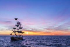 Los piratas de los 04 del Caribe fotografía de archivo