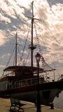 Los piratas de los 04 del Caribe Imagenes de archivo