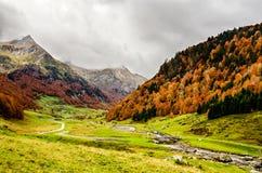 Los Pirineos Atlantiques fotografía de archivo