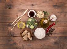 Los platos chinos son los más populares en todo el mundo Fotos de archivo