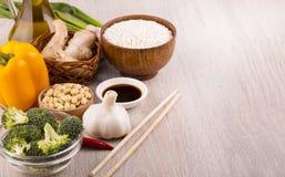 Los platos chinos son los más populares en todo el mundo Fotografía de archivo