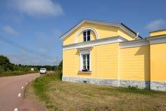 Los posts y aduanas en Eckero, Aland, Finlandia Fotos de archivo