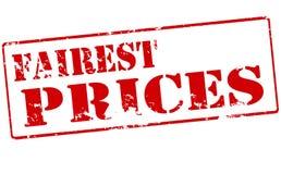 Los precios más justos Imagenes de archivo