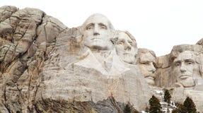 Los presidentes del monte Rushmore fotografía de archivo libre de regalías