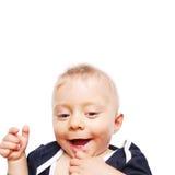Los primeros dientes del bebé Fotos de archivo libres de regalías