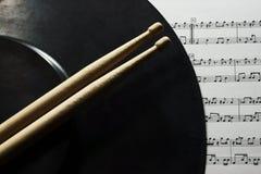 Los primeros pasos en música Imagen de archivo libre de regalías