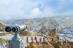 Los prismáticos turísticos Fotografía de archivo