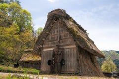 Los pueblos históricos de Shirakawago Fotos de archivo libres de regalías