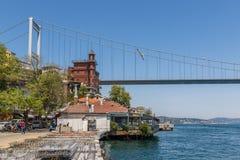 Los puentes de Estambul Turquía foto de archivo libre de regalías