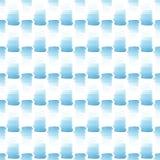 Los puntos azules del verano brillante transparente maravilloso blando artístico hermoso abstracto modelan el ejemplo de la mano  Fotografía de archivo