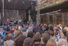 Los rastros de Varsovia judía - cultive el festival 2010 Fotografía de archivo
