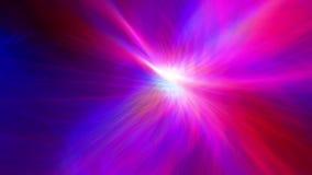 Los rayos de iluminación alinean el fondo de mudanza de la cantidad almacen de metraje de vídeo