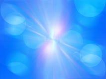 Los rayos de la luz coloridos, extracto estallaron el fondo Fotos de archivo libres de regalías