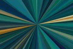 Los rayos ligeros ponen verde el fondo del haz llamarada del contexto ilustración del vector