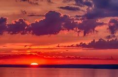 Los rayos pasados del sol Imagenes de archivo
