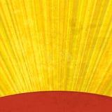 Los rayos solares del Grunge envejecieron el fondo. ilustración del vector