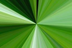 Los rayos verdes claros emiten el fondo Primavera ilustración del vector