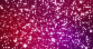 Los reflectores violetas púrpuras azules abstractos de la pendiente puntean el lazo inconsútil del brillo y de las chispas, parti ilustración del vector