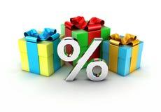 Los regalos Imagen de archivo libre de regalías